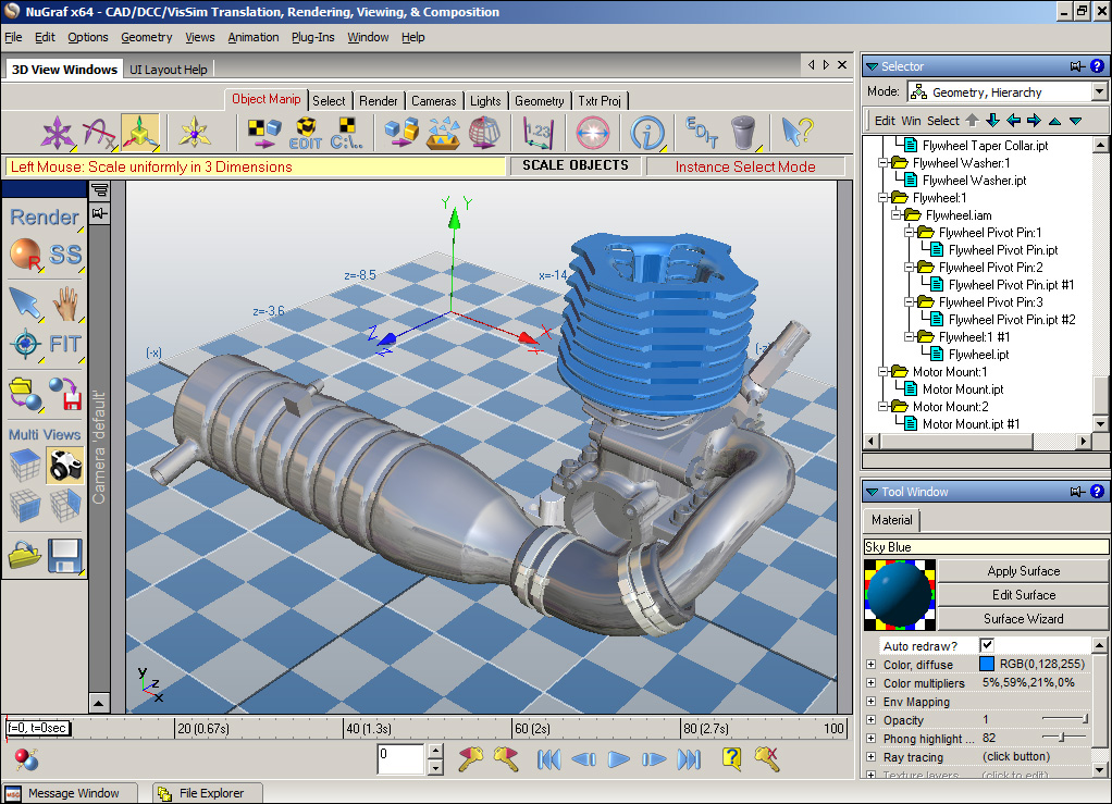 Convert And Translate Autodesk Inventor Cad Files To